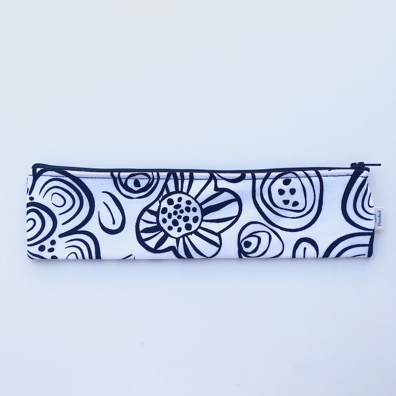 Love Punched Reusable Utensil Pouch Reusable Zero Waste Travel Pouch Eco-Friendly