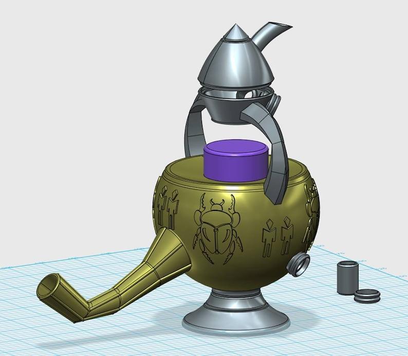 Morrowind style Skooma pipe 3d model