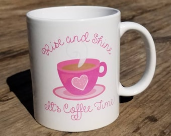 Coffee time mug