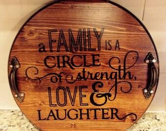 Family Circle Lazy Susan