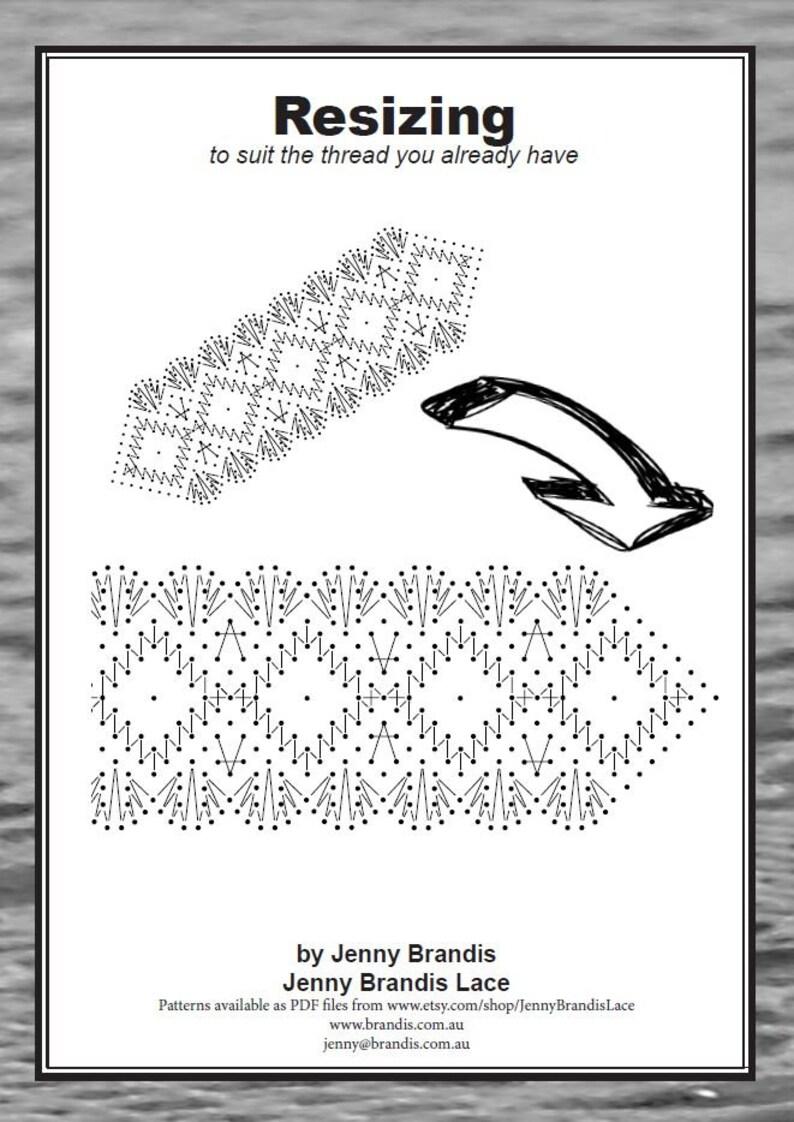 Brigitte Bookmark is a bobbin lace pattern by Jenny Brandis