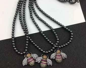 35128913c572 Hematita necklace