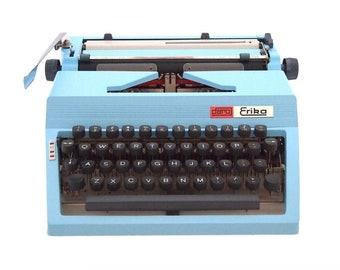 Daro Erika 170 Portable Blue Ink Typewriter Ribbon Free Shipping
