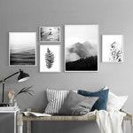 Fünf Poster, Schwarz-Weiß-Galerie von Postern, Skandinavische Poster,  monochrome Poster, Schlafzimmer poster, Wohnzimmer bilder,