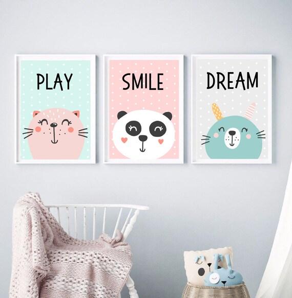 Plakaty Do Pokoju Dziecka Plakaty Dla Dziecka Plakaty Pokój Dziecięcy Kolorowe Plakaty Dla Dziecka Prezent Dla Dziecka