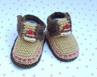 fdaba7c4c9c Sock monkey boots