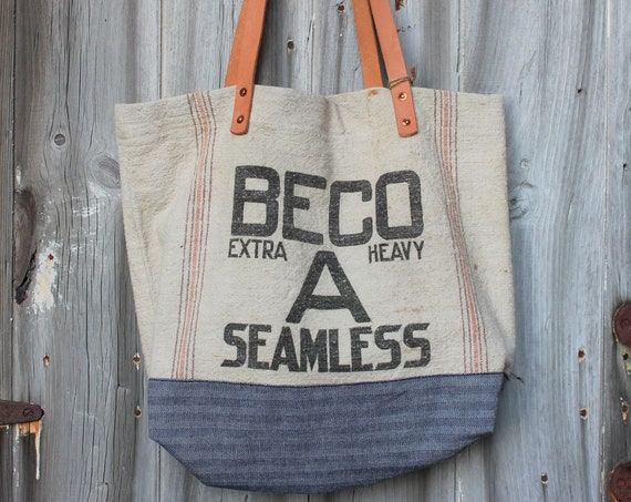 Workwear Grain Sack Tote