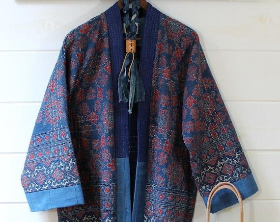 Kantha Quilt Kimono