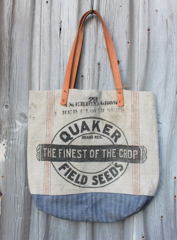 Workwear Grain Sack Tote