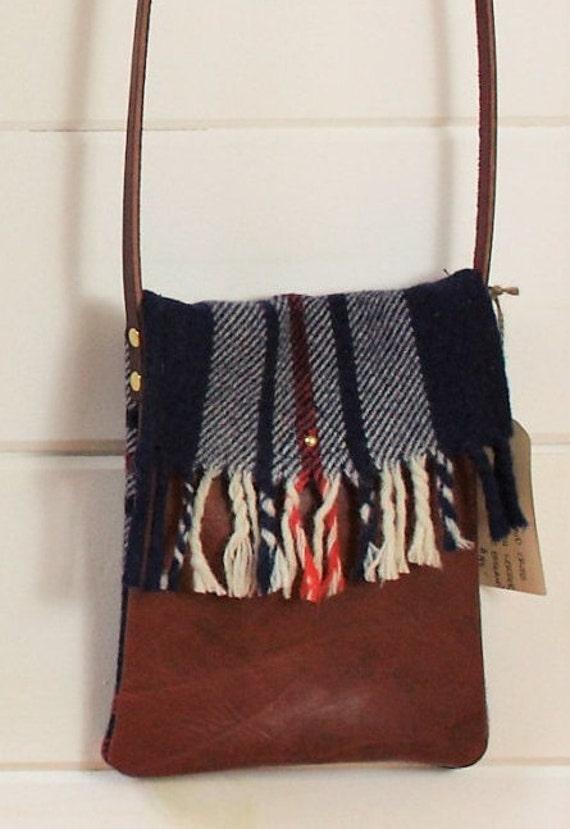 Blanket Plaid Cross Body Bag