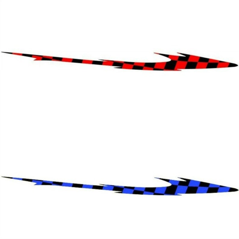 2 RV Trailer Truck Boat Accent Stripe Decals Graphics Color Choice