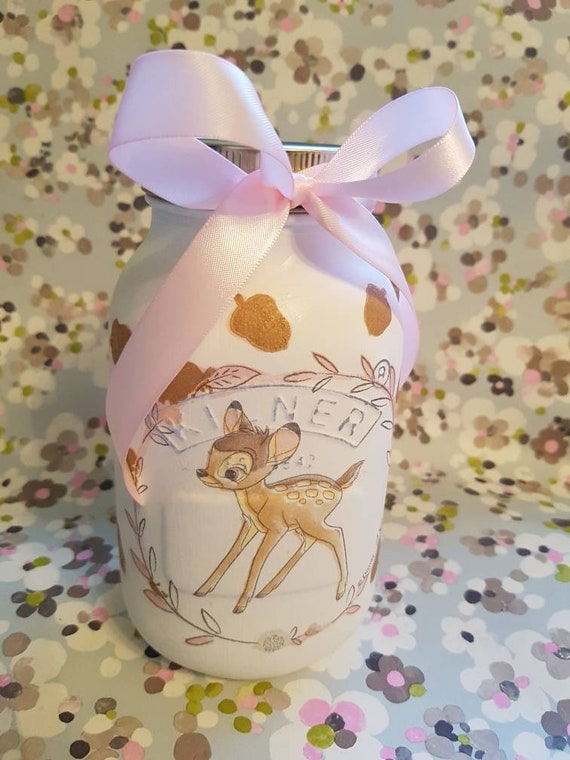 Shabby Chic Emma Bridgewater Themed Pink Hearts Decorative Kilner Jar 1.0ltr...