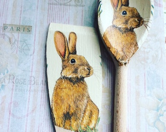 March Hare Spoon & Spatula set