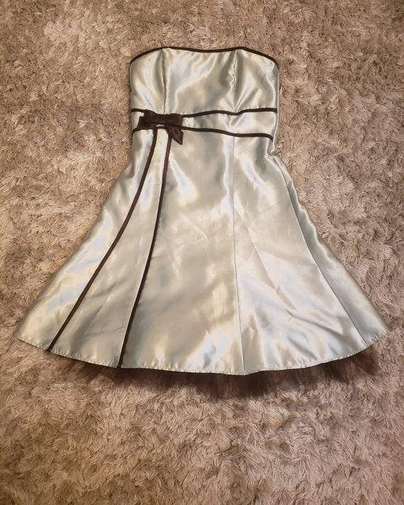 Gunne sax satin dress