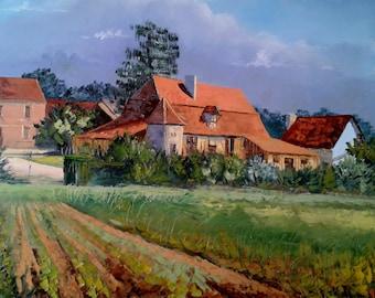 The Bigoussia Dordogne Landscape