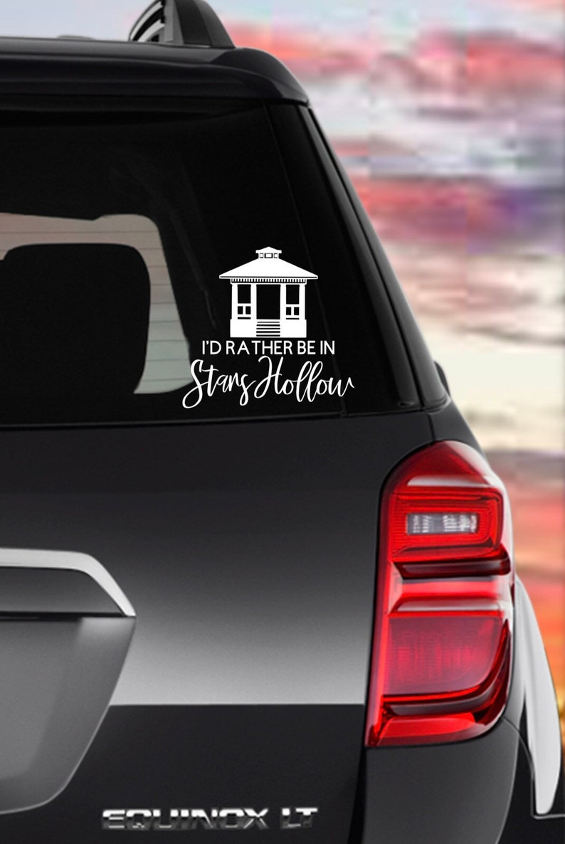 Stars Hollow Decal Drink Like A Gilmore Gilmore Girls Decal