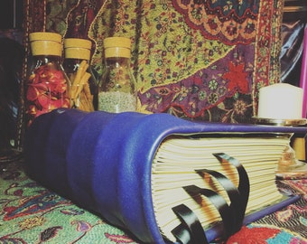 Extra Large Handmade Book of Shadows Leather bound