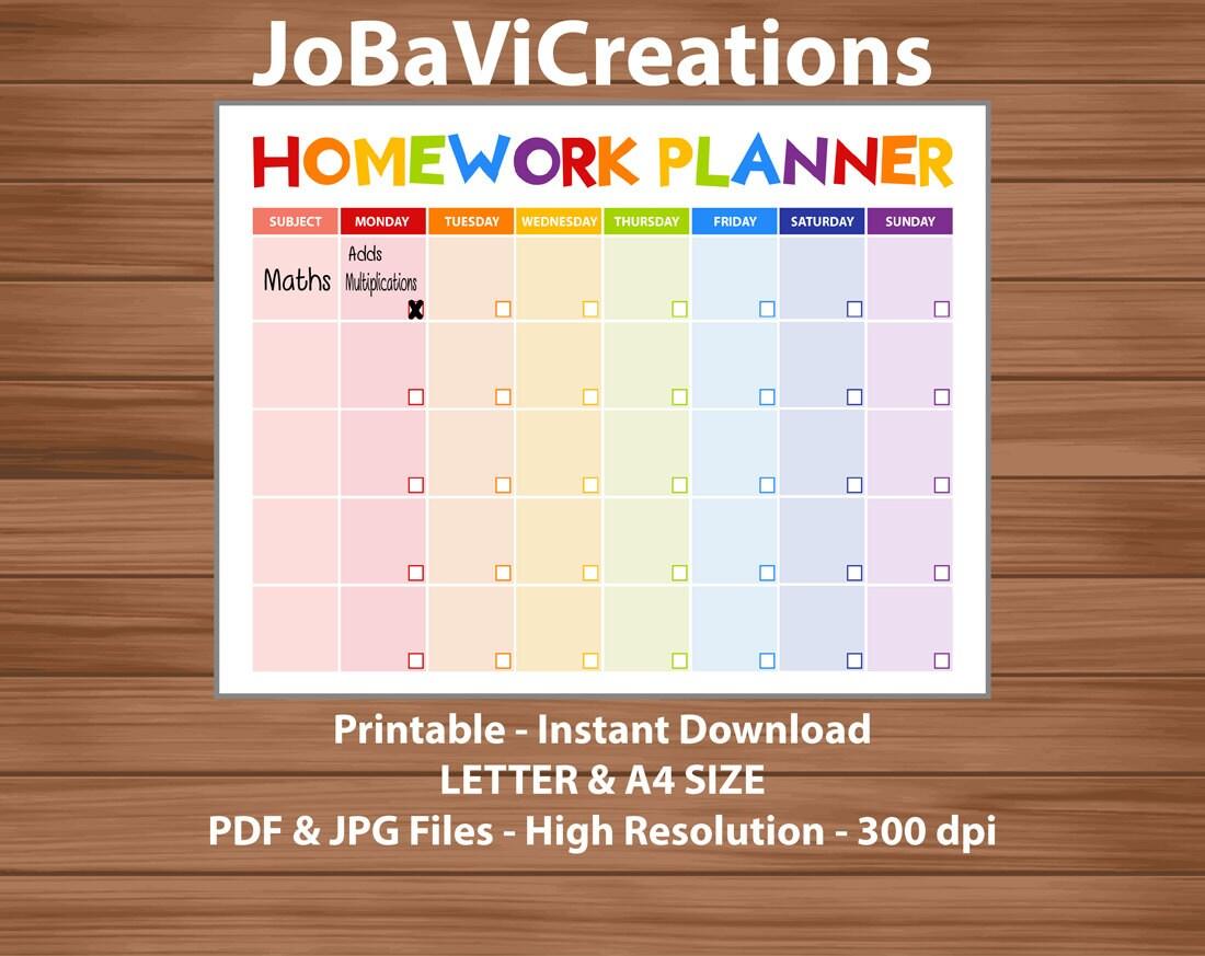 Buy homework planner