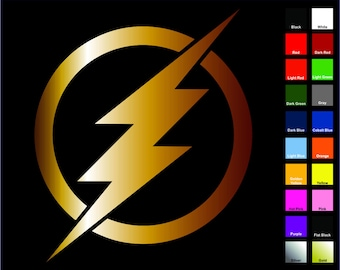 The Flash Decal / Sticker - Choose Size & Color -