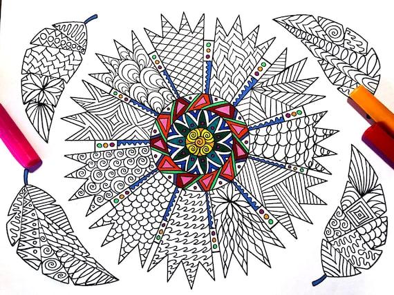Adult Coloring Pages - ColorSuki.CoM | 428x570