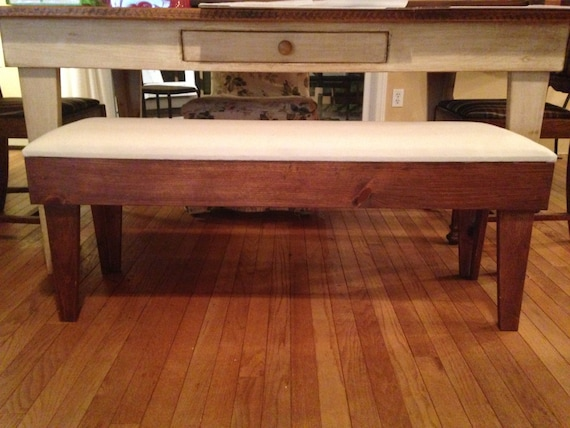Outstanding Pine Table Bench Seat Cushion Kitchen Bench Farmhouse Bench Rustic Bench Country Bench Dining Room Table Seat Chair Farmhouse Decor Gamerscity Chair Design For Home Gamerscityorg