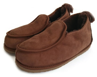 7e30a611acc Men's Slippers | Etsy UK