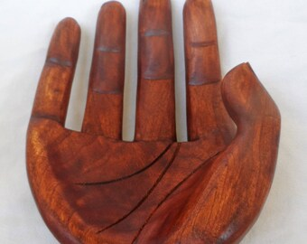 Bowl hand, wood caarving (#1hndbl10)