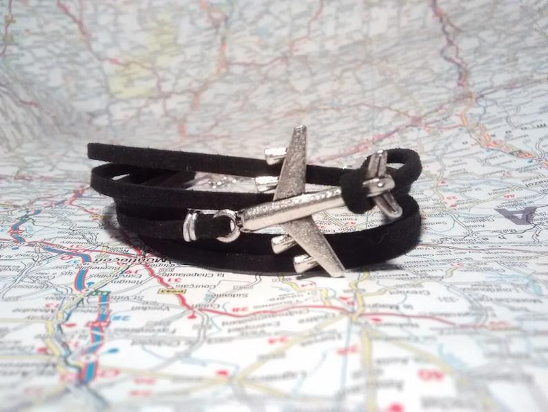 Traveller bracelet Travel Suede bracelet image 0