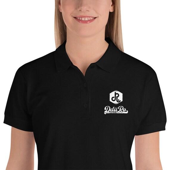 DDIIRO Embroidered Women's Polo Shirt