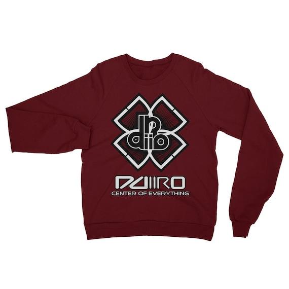 Ddiiro Clothing Unisex Fleece Raglan Sweatshirt