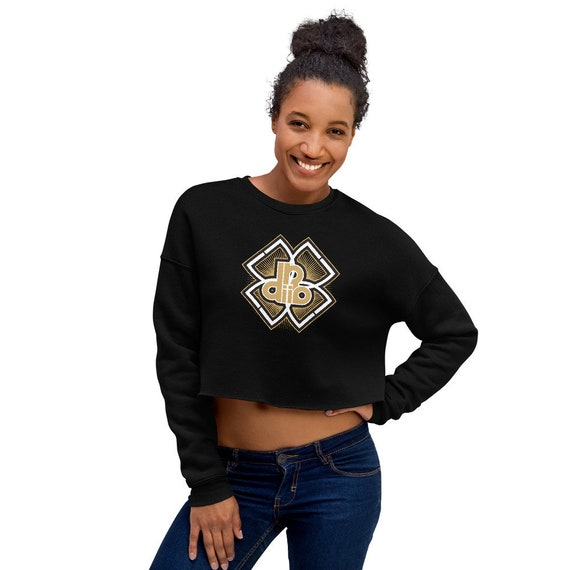 DDIIRO Athletic Crop Sweatshirt