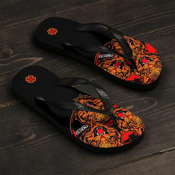 DDIIRO Lion Unisex Flip-Flops