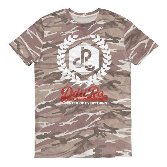 DDIIRO FI Short-sleeved camouflage t-shirt