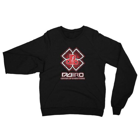 DDIIRO Athletic Unisex California Fleece Raglan Sweatshirt