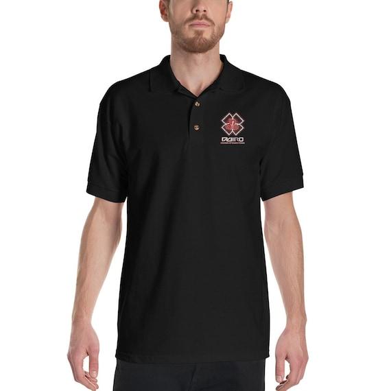 DDIIRO Embroidered Polo Shirt