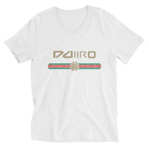 DDIIRO Unisex Short Sleeve V-Neck T-Shirt
