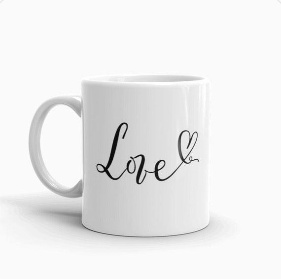 Répandre le cadeau de Saint Valentin amour tasse, mug personnalisé fille patron Entrepreneur, meilleur cadeau d'un ami, café, lèvres rouge tasse de thé, amateur de café, bureau Business