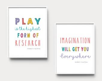 Imagination Quote Etsy