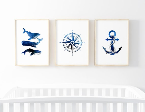 Nautical Nursery Prints