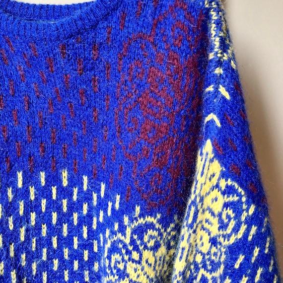 Vintage, Retro, Italian made pullover knit sweater