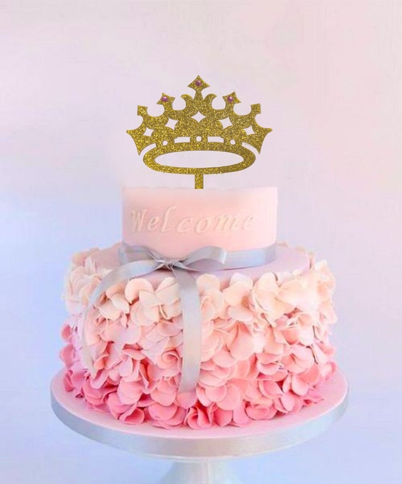 Princess Cake Topper Girl Birthday Queen First
