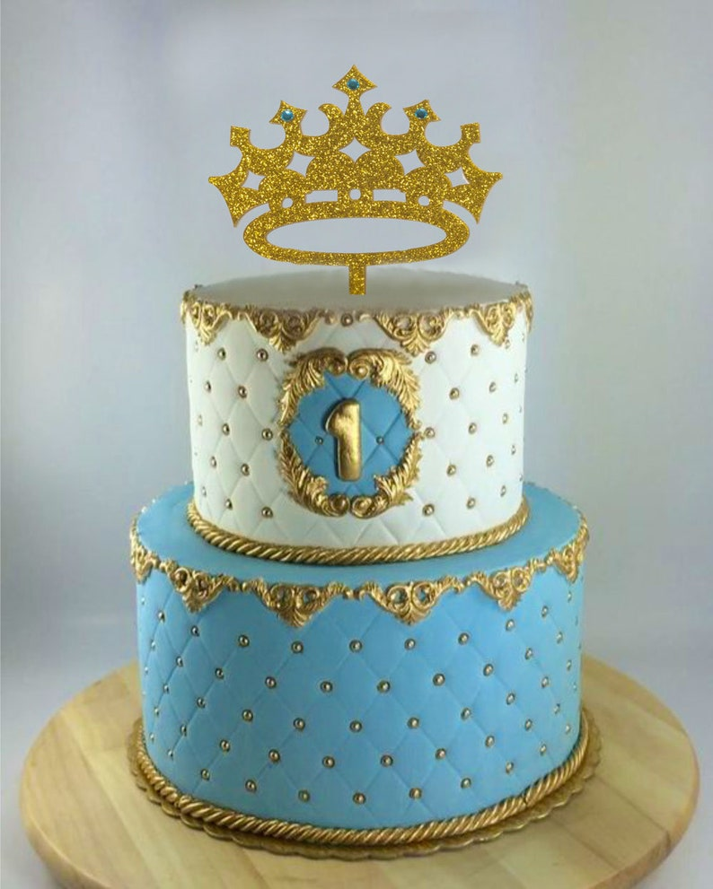 Prince Cake Topper Boy Birthday King First