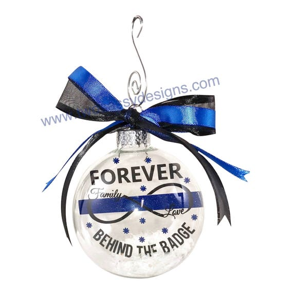 Police Christmas Ornaments.Police Officer Ornament Thin Blue Line Ornament Christmas Ornament Police Ornament Law Enforcement Ornament Leo Ornament Police Gift