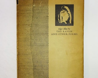 1936 EDGAR ALLAN POE The Raven and Other Poems, Limited Edition 308/950, Illustrated, Fine Book Circle