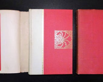 1895 THE MARBLE FAUN by Nathaniel Hawthorne, Illustrated, Dust Wrappers, 2 Volumes Complete