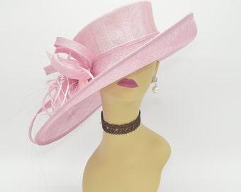 0e670586caf M1515( Pink ) Kentucky Derby Hat