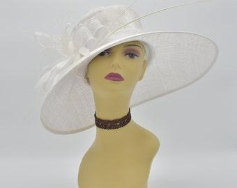 M97( White )Kentucky Derby Hat c3188003a