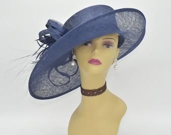 e3d7bb756aba2 M1515( Navy ) Kentucky Derby Hat