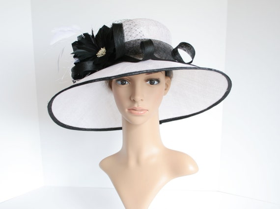 c4ef07b21ab SF65 White Black Newest Kentucky Derby Church Wedding