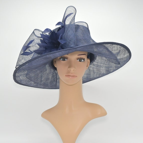 6cb6e7cd758 SF80 Navy Blue Kentucky Derby Church Wedding Tea Party